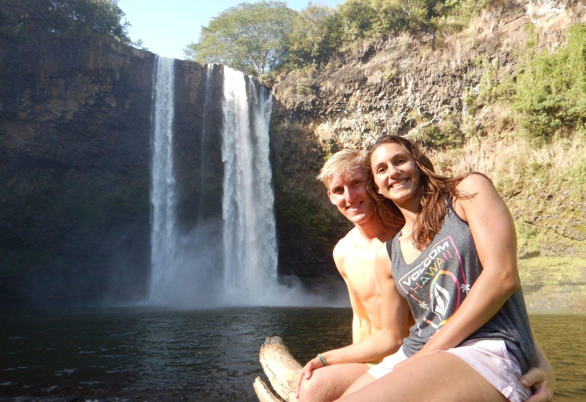 Braving Wilua Falls