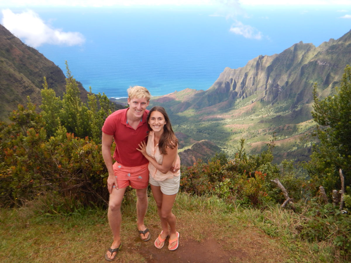 Exploring Waimea Canyon